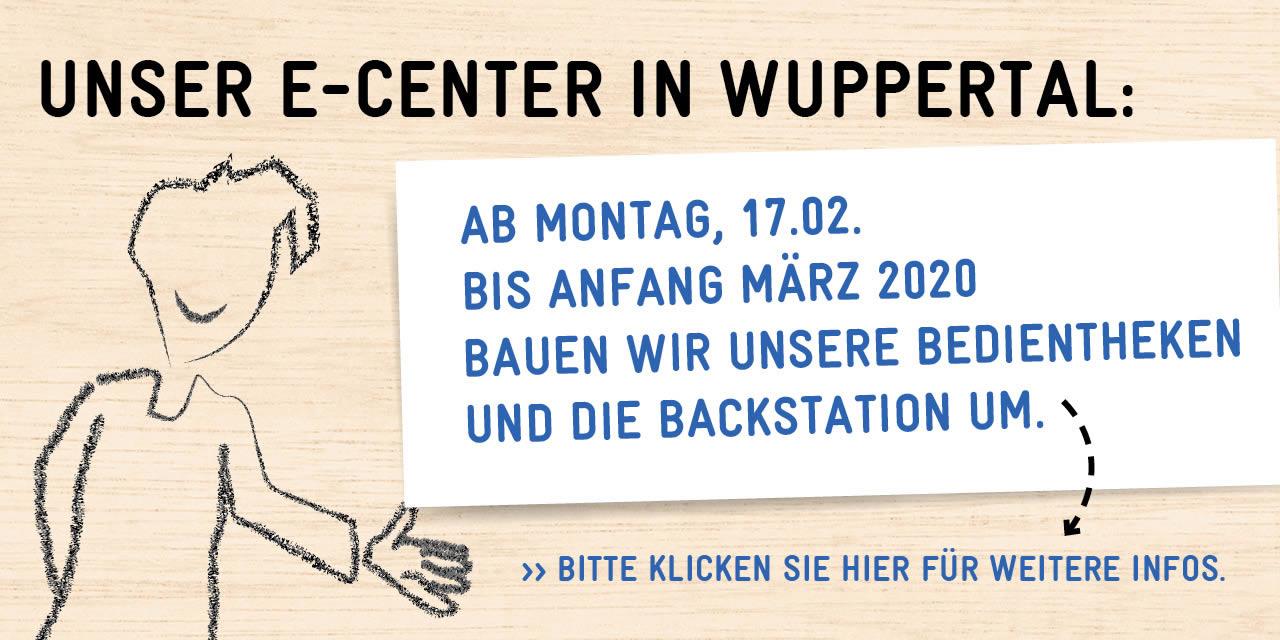 EDEKA Wuppertal Umbau Bedienttheken